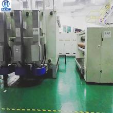 Sistema de controle de equipamento hidrofílico de tecido não tecido