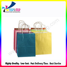 Medium Size Raw Material Paper Bag with Handle