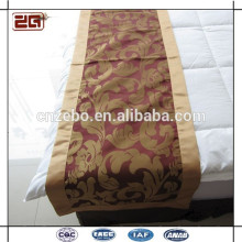 Neueste schöne dekorative Bett Schals und Läufer