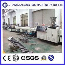 Machine de fabrication de tuyaux PE de 50 à 160 mm