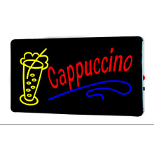 LED Sign Cappuccino