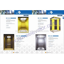 Gold Elevator Cabin