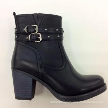 New Arrival Chunky Heel Womne Boot (S 02)