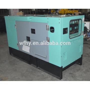 Generador diesel de 10kw del trifásico 4 de la fase 4 para la venta