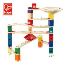 Rubber Wood Plywood marble run mainan anak anak holz spielzeug juguetes para los ninos education Creative Diy Construction Toy