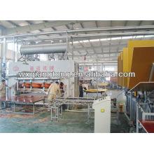 Bodenbelag Produktionslinie / Holzboden Parkett Maschine