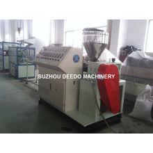Máquina de extrusão de troncos de arame de PVC