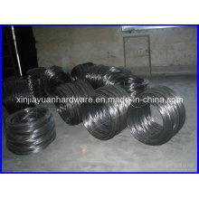 25kgs / bobina preta recozido fio de ferro de ligação