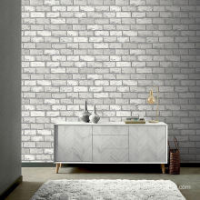 China Wholesale 3D Fake Plastic Simulated Outdoor Brick Wall Covering Wallpaper That Looks Like Brick