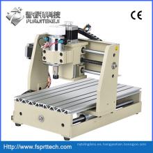 Enrutador CNC de puerto paralelo de 300 W, maquinaria de carpintería CNC