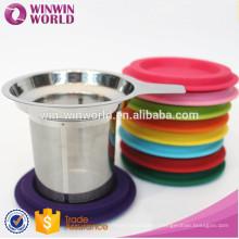 Hot Selling Amazon Wholesale Single Wall Personal Glass Tea Mug