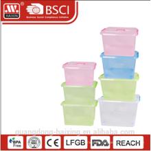 Kunststoff Behälter w/wheels24L / 31L / 39L / 49L / 69L / 89L / 124L