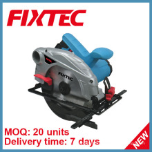 Fixtec Sawing Machine de Powertools 1300W 185mm Circular Saw Madeira viu (FCS18501)