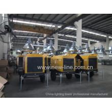 Tragbarer Lichtmast Professioneller Hersteller (7-18kw)