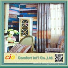 Tapicería de alta calidad y telas de la cortina