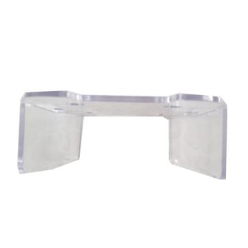 Pieza de plastico transparente PC