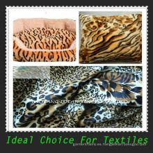 Ultra flexible tela felpa corta