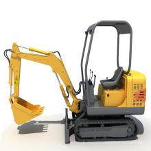 YG1.5-8 mini crawler excavators,1.5ton mini crawler digger