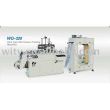 REEL TYPE SILK LABEL SCREEN PRINTING MACHINE(roll to roll screen printing)