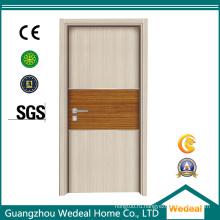 Настройка межкомнатные деревянные MDF меламина отлитая в форму дверь