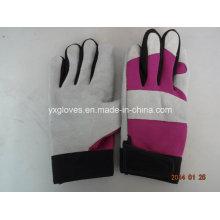 Перчатки Механик Перчатки-Кожаные Перчатки-Кожаные Рабочие Перчатки-Руки Защищены-Коровы Кожаная Перчатка