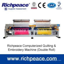 Richpeace máquina de bordar y bordado informatizado con cabeza alternativa