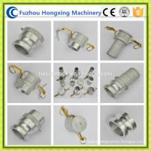 Aluminum camlock coupling hose quick fittings
