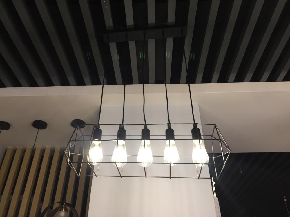 black ceiling lamps