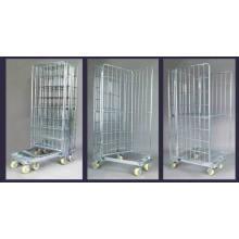 Складные цинка хромированный ролл контейнер для хранения (SLL07-L017)