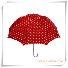 Paraguas recto del OEM de Pongee del paraguas del golf de la moda para la promoción