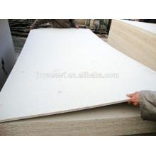 Panneau de particules de mélamine blanc 1220 * 2440mm de haute qualité