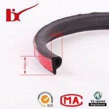 Tira de vedação de borracha adesiva de forma P 3m