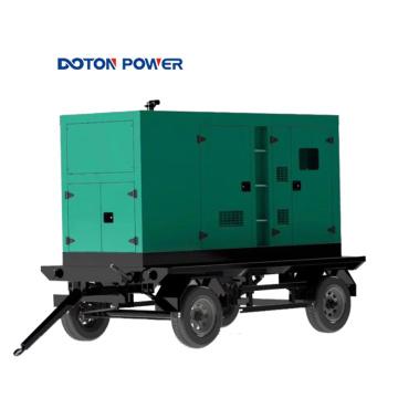 Groupe électrogène silencieux triphasé Diesel