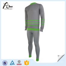 Mens Seamless Thermal Underwear Long Johns Set