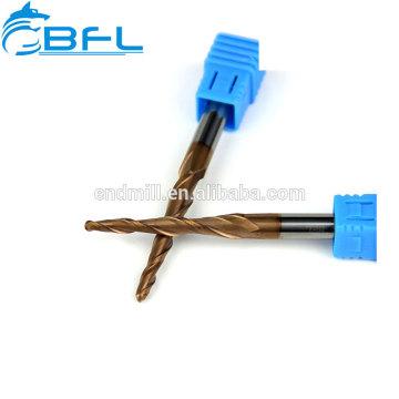 Fraise en bout de nez de boule de chandelle de carbure de tungstène de BFL pour le bois, revêtement