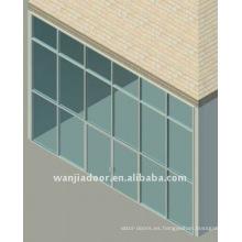 Nuevo diseño del sistema de araña de muro cortina.