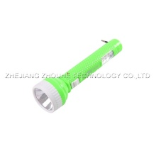 flashlight  rechargeable plastic led torch