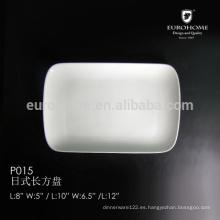 P015 cerámica placa cupé, placa de cerámica, platos de cerámica
