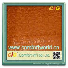 Moda nuevo diseño colorido por mayor de ningbo fabricante auto terciopelo tapicería tela suave