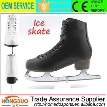 2015 neues Design Kältebeständigkeit Edelstahl Klingen Eislaufen Schuhe