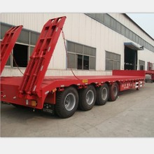 4 axles low bed trailer with godo quality