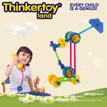 Пластиковые игрушки образования DIY Product Building Block Toys