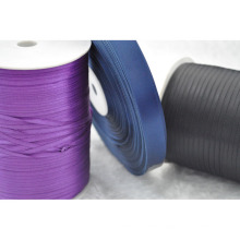 Rolled Satin Ribbon for Clothing/Garment/Shoes/Bag/Case