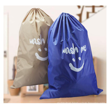 Oxford material travel storage bag Dirty clothes bundle pouch hot sale wash bag drawstring laundry bag