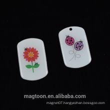 2016 customize creative design souvenir poly resin fridge magnets