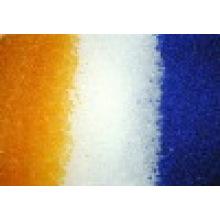 Déshydratant de gel de silice bleu / blanc / orange