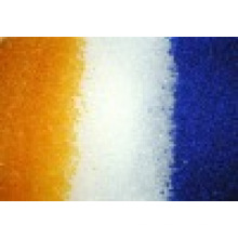 Gel de silice bleu/blanc/Orange