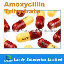 Polvo de amoxicilina de calidad estable