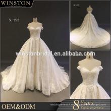 Оптовая новый дизайн свадебное платье