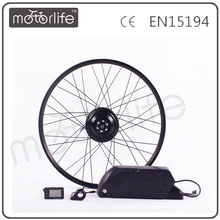 MOTORLIFE / OEM marca 2015 CE ROHS passar 350 w 20 polegada kit motor de bicicleta elétrica, kit de motor de cubo de roda diy